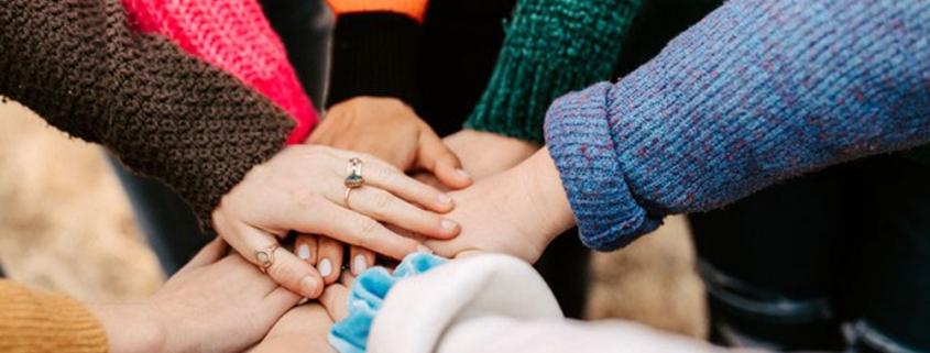 Trust leads to terrific teamwork. Photo by Hannah Busing on Unsplash